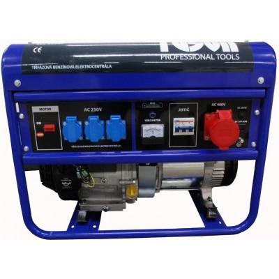 TUSON ELC6500T - Benzínová elektrocentrála 5500W OHV, AVR