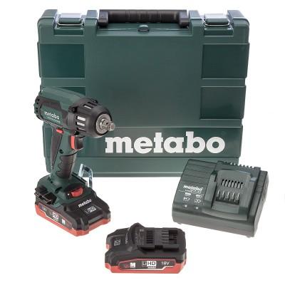 Metabo SSW 18 LTX 400 BL LiHD aku bezuhlíkový rázový utahovák