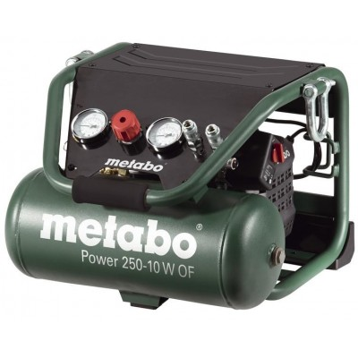 METABO Power 250-10 W OF - přenosný bezolejový kompresor