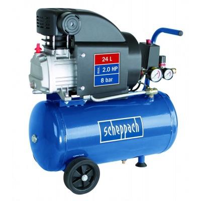 SCHEPPACH HC 25 olejový kompresor 1,5KW 8BAR 24L