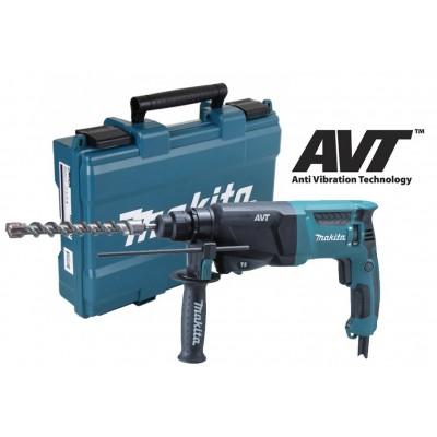 Makita HR2611F - Kombinované kladivo s AVT 2,4J,800W
