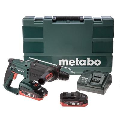 METABO KHA 18 LTX LiHD aku kombinované kladivo 2x3,5Ah 600210820