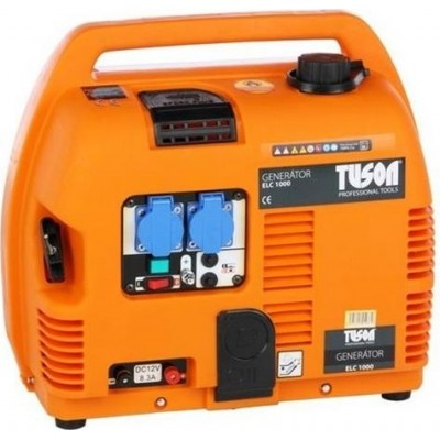 TUSON ELC1000 - Benzínová elektrocentrála 750W OHV, AVR, jednofázová, výstup 2x220V
