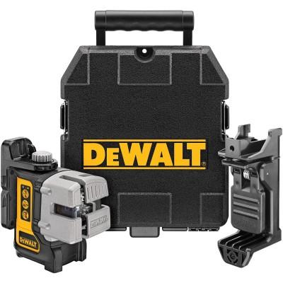 DeWALT DW089K - Samonivelační křížový laser se třemi paprsky