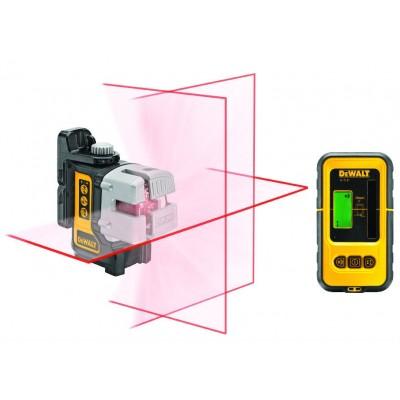 DeWALT DW089KD křížový multiline laser s přijímačem
