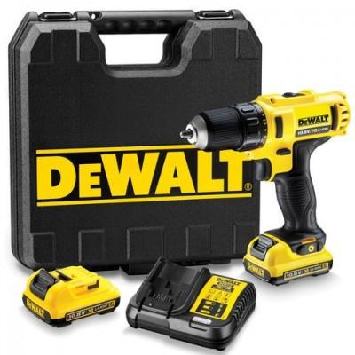 DeWALT DCD710D2 aku vrtací šroubovák 10,8 V 2,0 Ah