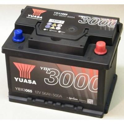 YUASA YBX3065 autobaterie 12V 56Ah