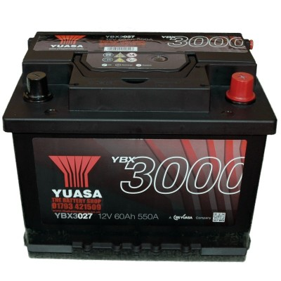YUASA YBX3027 autobaterie 12V 60Ah