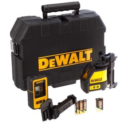 DeWALT DW088KD laserový kříž s příjmačem DE0892