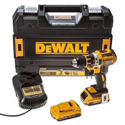 DeWALT DCD790D2 aku bezuhlíková vrtačka 18V 2,0Ah