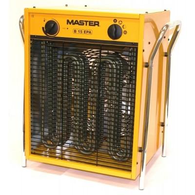 MASTER B15EPB elektrické topidlo s max. výkonem 15kW 400V