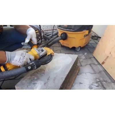 DeWALT DWE4217KT bruska 125 mm s krytem a kotoučem na broušení betonu