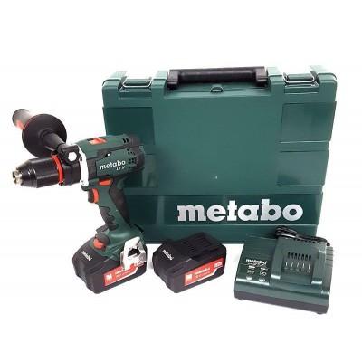 METABO BS 18 LTX Impuls aku vrtačka 18V 2x4,0Ah 602191500