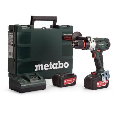 METABO SB 18 LTX Impuls aku příklepová vrtačka 18V 2x4,0Ah 602192500