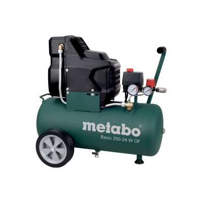 METABO Basic 250-24 W OF bezolejový kompresor 690865000