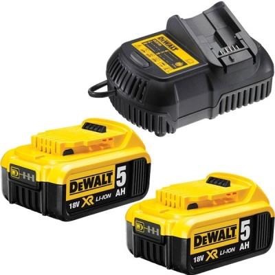 DeWALT DCB115P2 nabíječka 2x baterie XR Li-Ion 18V 5,0Ah