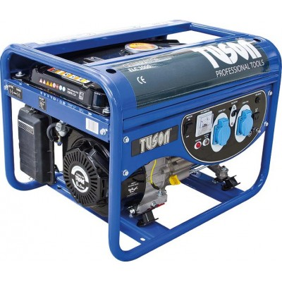 TUSON ELC3000 benzínová elektrocentrála 2500W OHV, AVR, jednofázová, výstup 2x220V