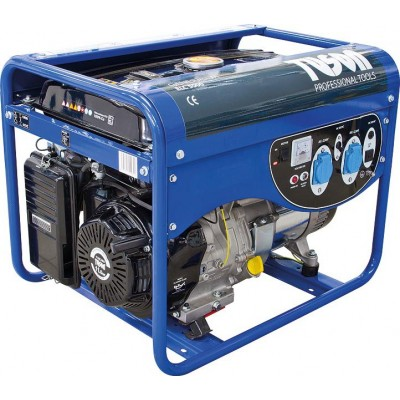 TUSON ELC5000 benzínová elektrocentrála 4000W OHV, AVR, jednofázová, výstup 2x220