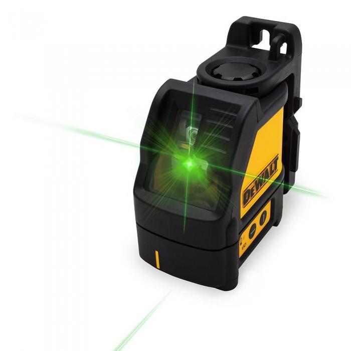 DeWALT DW088CG zelený křížový laser samonivelační
