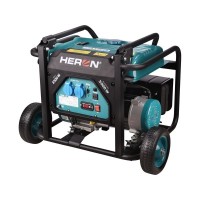 HERON 8896140 benzínová elektrocentrála 3500W OHV AVR