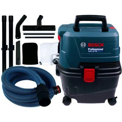 BOSCH GAS 15 PS vysavač na suché a mokré vysávání 06019E5100