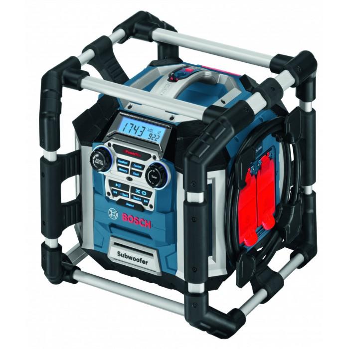 BOSCH GML 50 aku stavební rádio s nabíječkou 0601429600