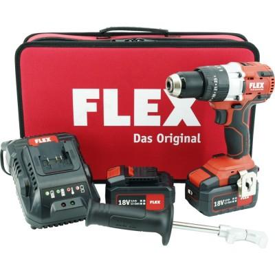 FLEX PD 2G 18.0-EC FS55 aku příklepová vrtačka 18V 2x5,0Ah