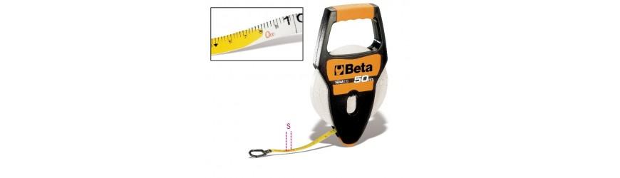 Měřící pásky a metry